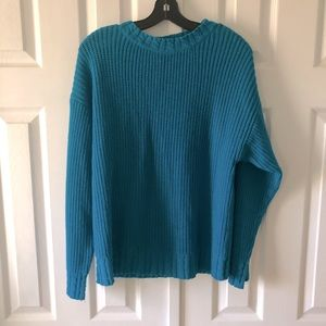 Partners Mervyn's cable knit sweater size S